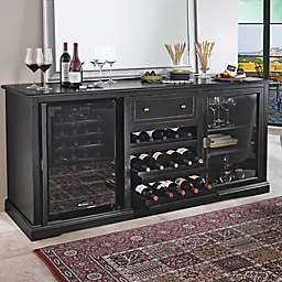 Wine Enthusiast® Siena Wine Credenza in Nero