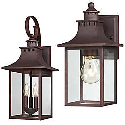 Quoizel® Chancellor Outdoor Wall Lantern in Copper Bronze