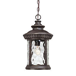 Quoizel Chimera Ceiling Mount Outdoor Hanging Lantern in Imperial Bronze