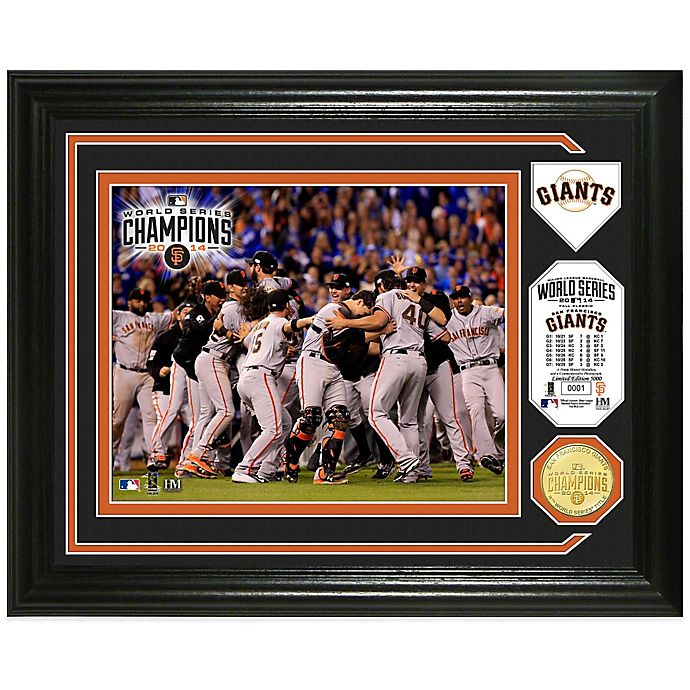 Alternate image 1 for MLB San Francisco Giants 2014 World Series Champions Celebration Photo Mint
