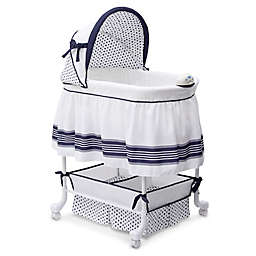 Delta Children Marina Smooth Glide Bassinet