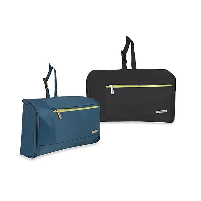 Alternate image 1 for Travelon Float Out Hanging Toiletry Kit