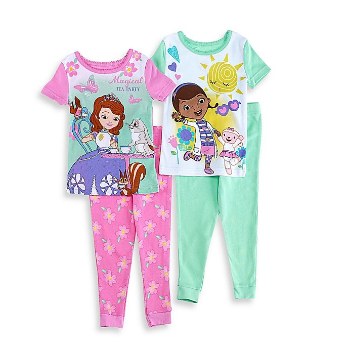 Disney The Doc Is In 4 Piece Doc Mcstuffins Toddler: Buy Disney® Sofia The First And Doc McStuffins Size 3T 4