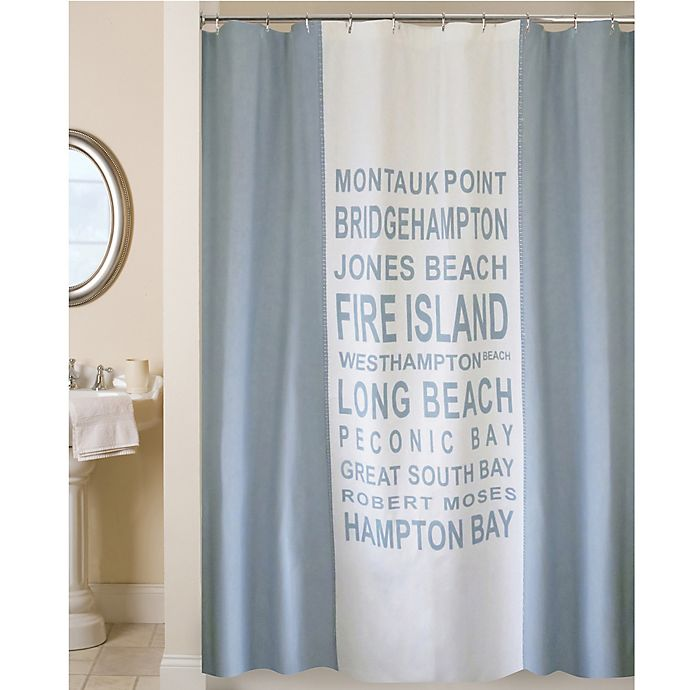 Park B SmithR Long Island Shower Curtain