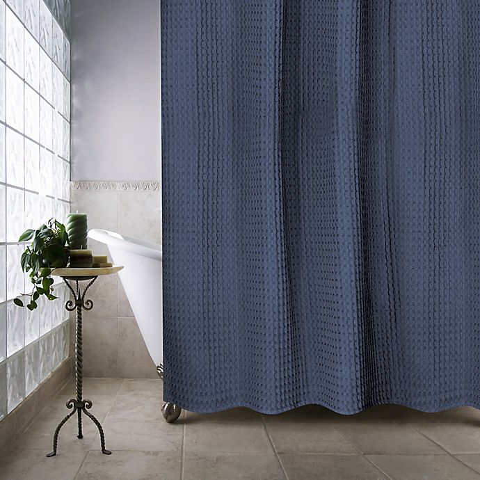 Alternate image 1 for Escondido 72-Inch x 96-Inch Shower Curtain in Navy