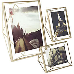 Umbra® Prisma Photo Frame in Matte Brass