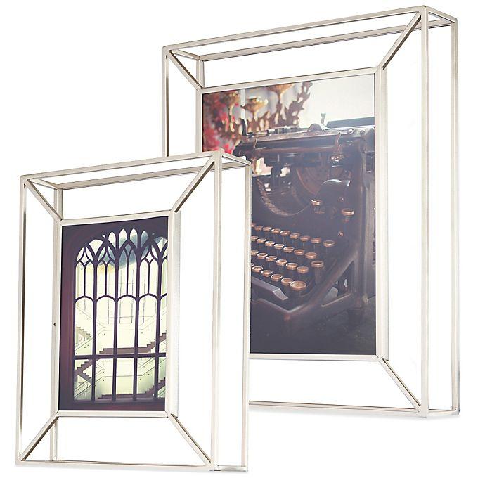 Umbra® Matrix Photo Frame in Nickel   Bed Bath & Beyond