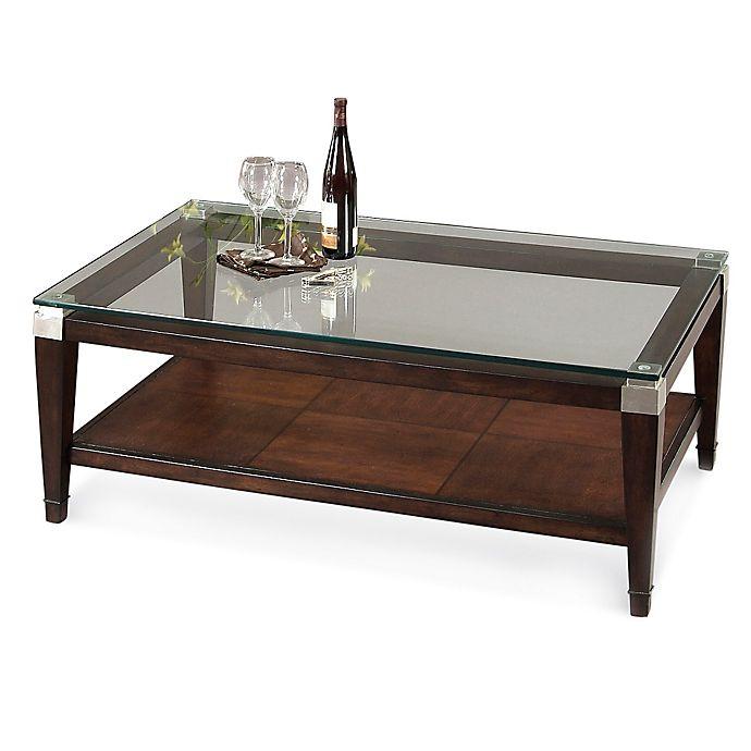 Bassett Mirror Company Dunhill Rectangular Cocktail Table Bed Bath
