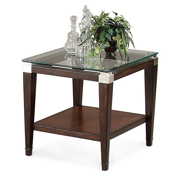 Bassett Coupon: Bassett Mirror Company Dunhill Rectangular End Table