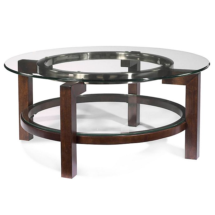 Bassett Coupon: Bassett Mirror Company Oslo Round Cocktail Table