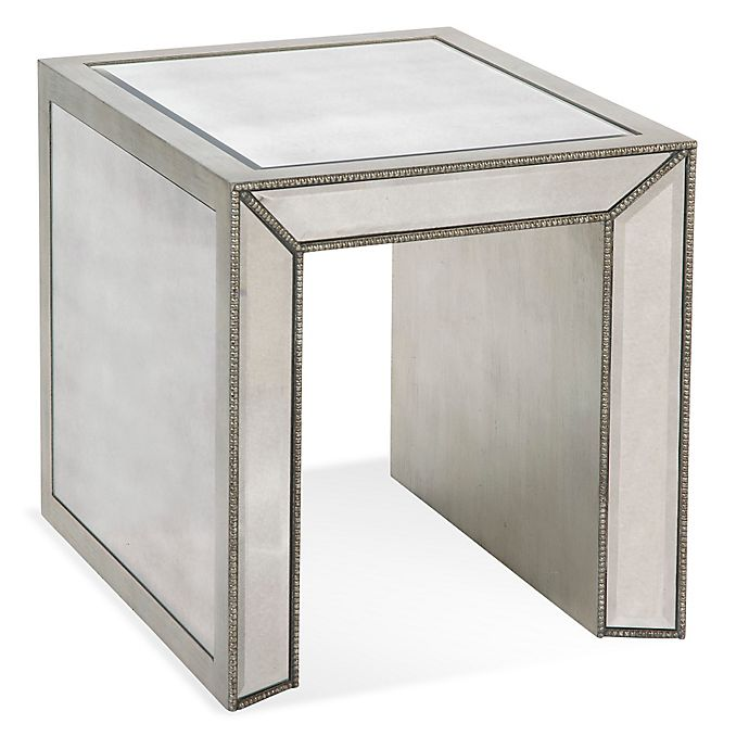 Alternate image 1 for Bassett Mirror Company Murano Rectangular End Table