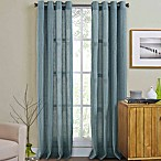 Weston 95-Inch Grommet Top Window Curtain Panel in Spa