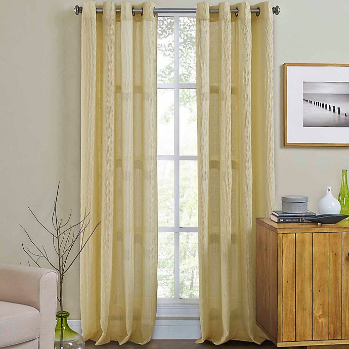 Weston Grommet Top Window Curtain Panel Bed Bath Beyond