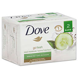 Dove 2-Count 4 oz. Go Fresh Cool Moisture Beauty Bar