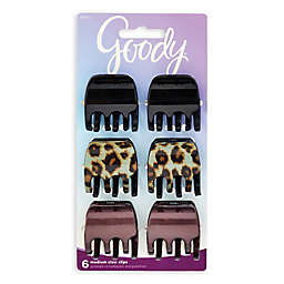 Goody® Animal Print 6-Pack Jaw Clips