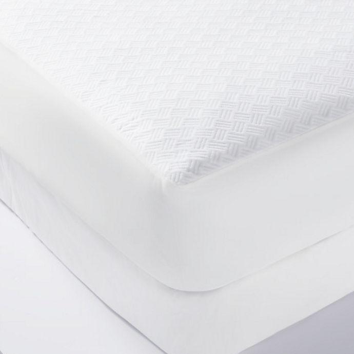 Alternate image 1 for Healthy Nights™ Temperature Balancing Twin XL Mattress Protector