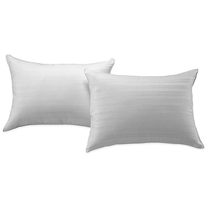 Alternate image 1 for Bedding Essentials™ Cotton 2-Pack Pillow Protector