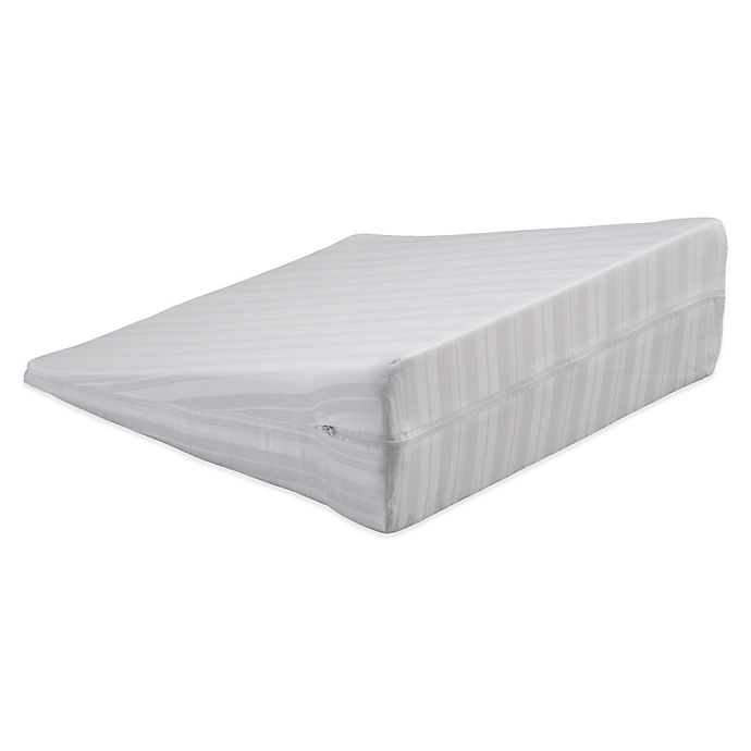 Alternate image 1 for Bedding Essentials™ Cotton Wedge Pillow Protector