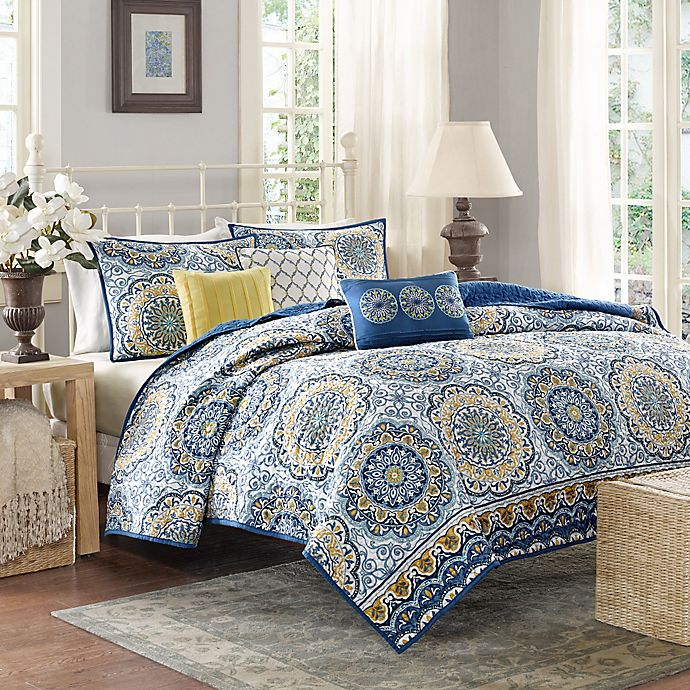 Madison Park Tangiers Coverlet Set Bed Bath Amp Beyond