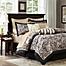 Part of the Madison Park Aubrey 12-Piece Reversible Comforter Set