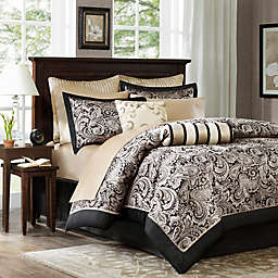 Madison Park Aubrey 12-Piece Reversible Comforter Set