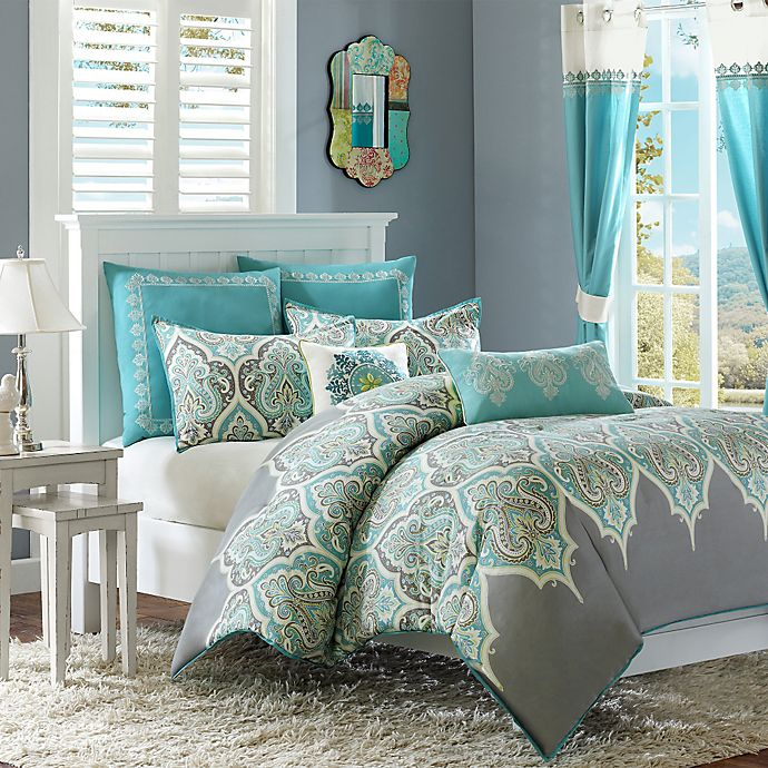 Madison Park Nisha Comforter Set Bed Bath Amp Beyond