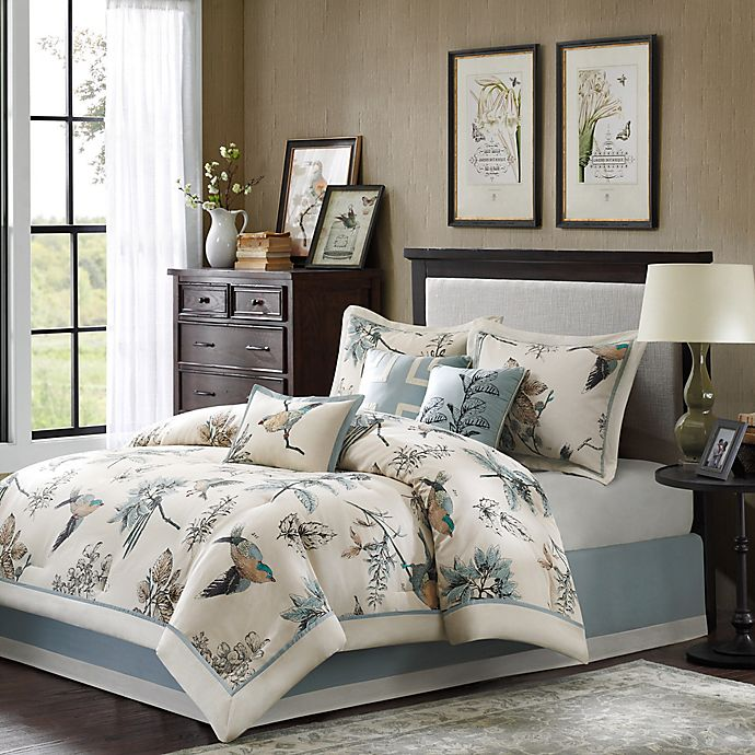40628826052c Madison Park Quincy Reversible 7-Piece Comforter Set | Bed Bath & Beyond
