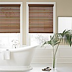 Real Simple® Faux Wood 34-Inch x 64-Inch Blind in Chestnut