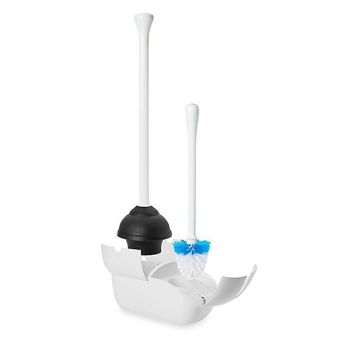Alternate image 1 for OXO Good Grips® Combo Toilet Brush and Plunger