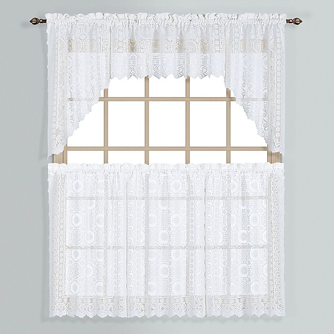 New Rochelle Lace Window Curtain Tier Pairs
