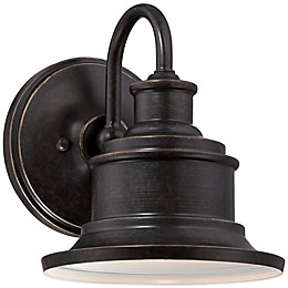 Quoizel® Seaford Outdoor Wall Lantern in Imperial Bronze
