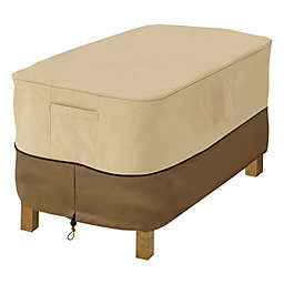 Classic Accessories® Veranda Rectangular Coffee Table Cover in Pebble