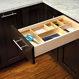 Rev-A-Shelf Adjustable Wood Drawer Organizer Kit