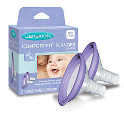 Lansinoh® 2-Pack Large ComfortFit™ Flanges