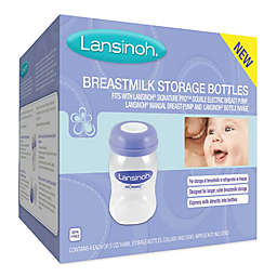 Lansinoh® 4-Pack 5 fl. oz. Breastmilk Storage Bottles
