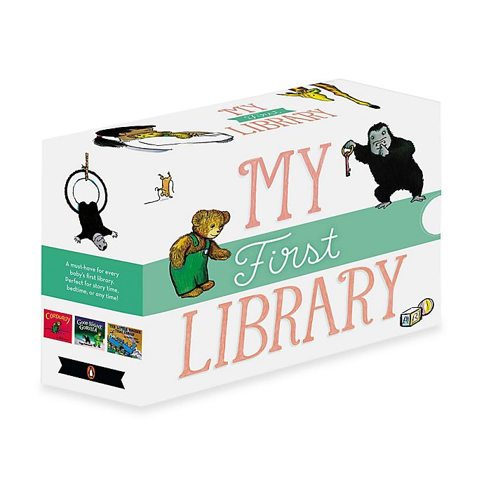 Alternate image 1 for My First Library Boxed Board Book Set