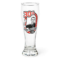 Big Mouth Toys Milestone Happy 30th Birthday Pilsner Glass