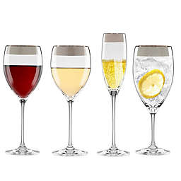 Lenox Timeless Wide Platinum Wine Glass Collection
