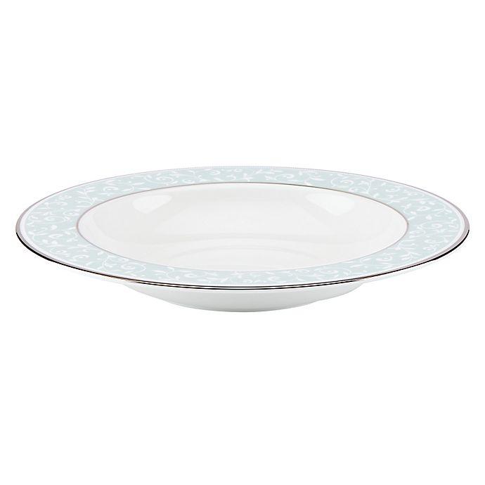 Alternate image 1 for Lenox® Opal Innocence™ Rim Soup Bowl in Blue