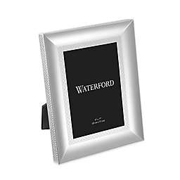Waterford® Lismore Diamond Frame in Silver
