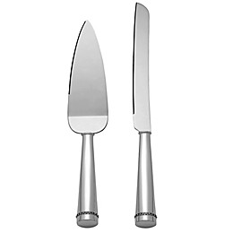 Reed & Barton Luxe Collection Facets 2-Piece Cake Knife and Server Set