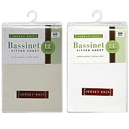 BE Basic™ Bambino Basics Jersey Knit Bassinet Sheet