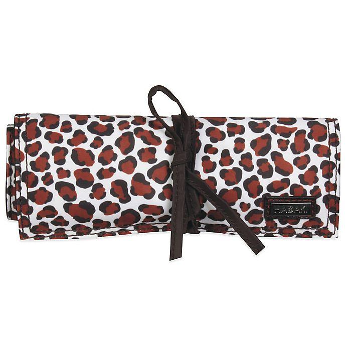 Alternate image 1 for Hadaki Jewelry Roll in Luna Blue Safari Cheetah