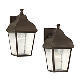 Sea Gull Collection by Generation Lighting Terrace Outdoor Wall Lantern in Oil Rubbed Bronze