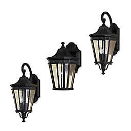 Feiss® Cotswold Lane Outdoor Wall Lantern in Black