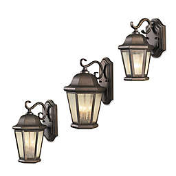 Sea Gull Collection by Generation Lighting Martinsville Outdoor Wall Lantern in Bronze