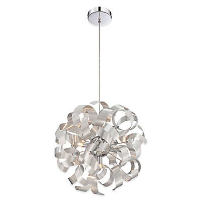 Quoizel Ribbons 5-Light Ceiling Mount Pendant  in Millenia