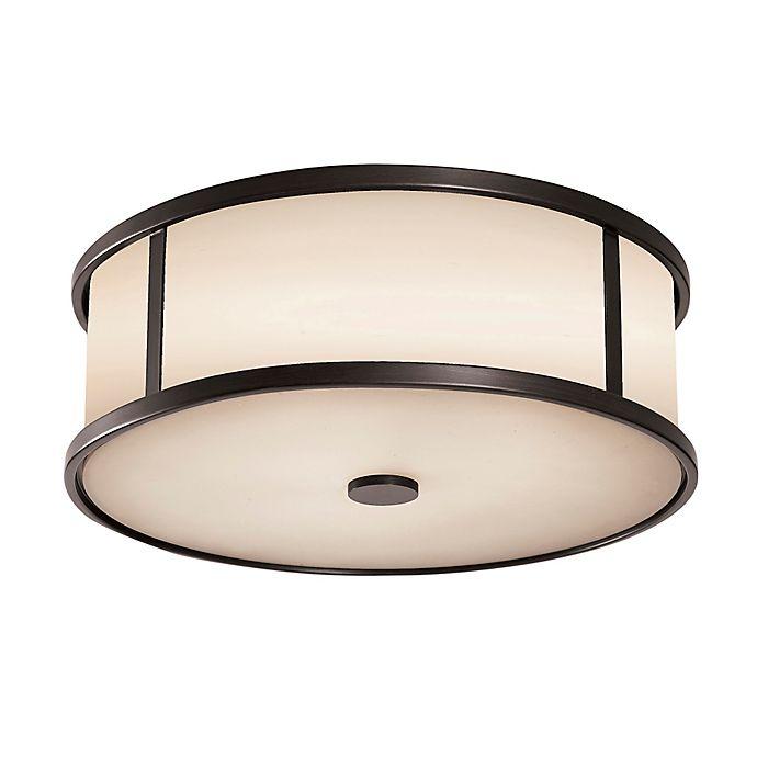 Alternate image 1 for Feiss® Dakota Ceiling Mount Outdoor Light in Espresso