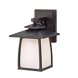 Sea Gull Collection by Generation Lighting Wall-Mount Outdoor Lantern in Bronze
