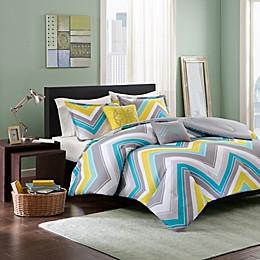 Elise Comforter Set in Blue